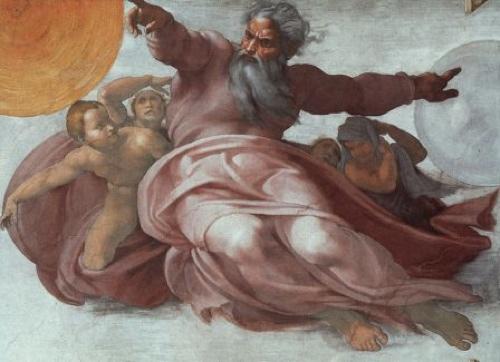 Un dios rencoroso, un dios que maldice... ese no es el Dios en el que creo.