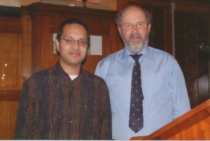Luis Jovel y N. T. Wright 1