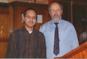 Luis Jovel y N. T. Wright 1